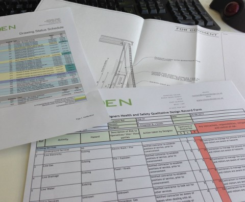 CDM and Project Management for one of our design projects