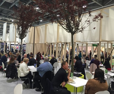 Busy Ask An Expert Hub at Grand Designs