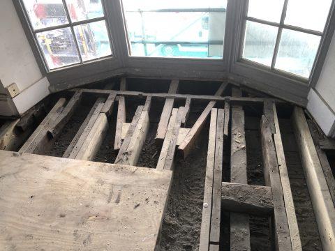 bay window timbers